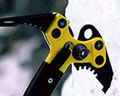 Icexe axes and crampons for ice climbing