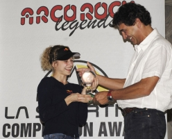 Arco Rock Legends 2006: Angela Eiter vince il primo La Sportiva Competition Award