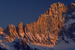 The immaculate NW Face of Civetta, Dolomites