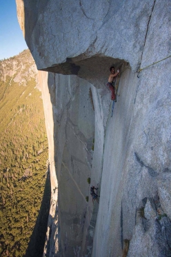 On 21 October 2017 Brad Gobright and Jim Reynolds set a new speed record on The Nose, El Capitan, Yosemite