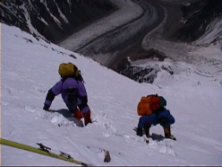 K2: on the Cesen Route at about 7700m