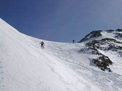 Ski mountaineering in Val Senales: