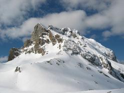 Scialpinismo in Carnia Peralba, via normale