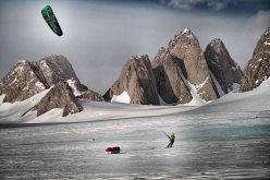 Reaching the Spectre and the Organ Pipe Peaks, Gothic Mountains, Antarctica.