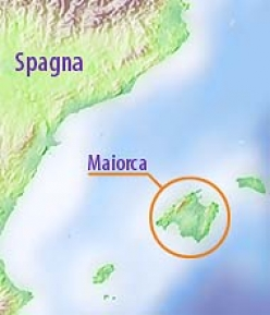 The island of Mallorca in Spain