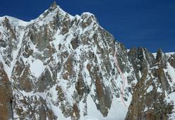 Voie Anderson, Mont Maudit, Monte Bianc