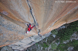 De rerum natura, new route by Oviglia and Larcher at Bavella, Corsica