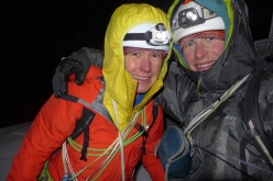 Ines Papert and Luka Lindić on the Watzmann Family traverese