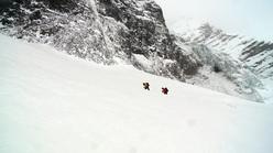 Schach Matt - Gran Zebrù. (3851m), North Face, 1000m M10+ WI5 55°. Florian & Martin Riegler, winter 2010.