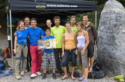 Momenti del Salewa Rockshow 2009