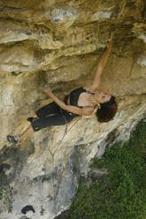 Claudia Giglio sale Superwife 8a+ a Castelbianco, Albegna