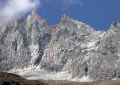 The unclimbed Mugu Peaks in Nepal