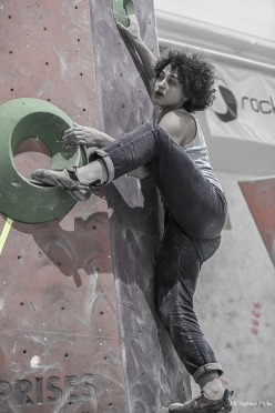 Italian Bouldering Cup 2018, first stage at Agrate Brianza: Giorgia Tesio