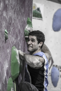 Italian Bouldering Cup 2018, first stage at Agrate Brianza: Marcello Bombardi