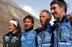 Edurne Pasaban, Alex Chicón, Nacho Orviz, Asier Izaguirre