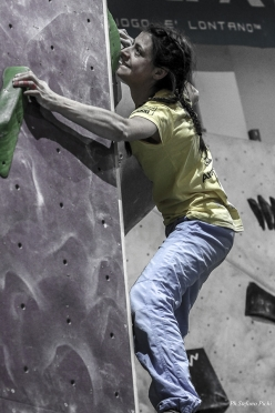 Italian Bouldering Cup 2018, first stage at Agrate Brianza: Martina Zanetti