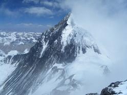 Everest dalla cima del Lhotse