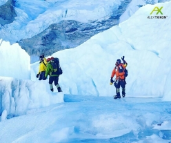 Alex Txikon, Ali Sadpara and the Sherpa setting off on their bid to climb Everest in winter without supplementary oxygen