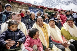 Apa Sherpa in the film Loved by All, directed by Eric Crosland