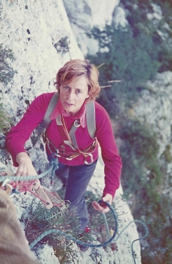 French alpinist Sonia Livanos