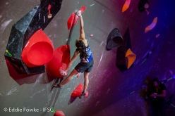 Bouldering World Cup 2018 Meiringen Switzerland: Miho Nonaka