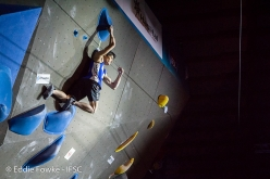 Bouldering World Cup 2018 Meiringen Switzerland: Tomoa Narasaki