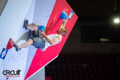 Bouldering World Cup 2018 at Moscow: Gabriele Moroni