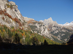 Autumn colours in Val di Mello