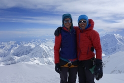 Slovak Direct Denali: Chantel Astorga and Anne Gilbert on the summit