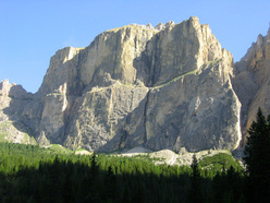 The impressive Piz Ciavaces, Sella group, Dolomites