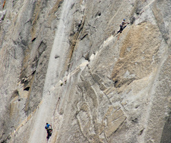 Alex Honnold & Sean Leary on El Capitan, Yosemite, USA