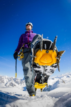 Grivel and the equipment for alpinism and climbing: Steve House with Grivel crampons