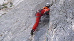 Rolando Larcher (day 2) on pitch 4 of Camaleontica