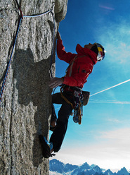 David Lama repeating Voie Petit, Grand Capucin, Mont Blanc
