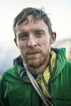 Tommy Caldwell seen after climbing the Dawn Wall during the filming of the movie The Dawn Wall in Yosemite Valley, CA, United States in January, 2015.