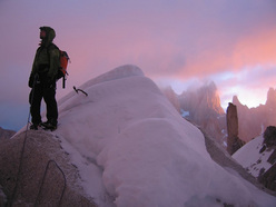 Weather is changing fast on Cerro Torre 'Compressor'