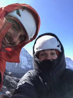 Jacopo Larcher and Barbara Zangerl repeating Odyssee on the Eiger (20-23/08/2018)