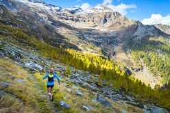 A full day trail running above Valle Verzacsa towards Monte Zucchero