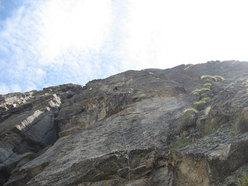 Su L3 di Le manteau de l'Eveque (Aiguille de l'Eveque, Monte Bianco)