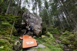 The future of one of Austria's most important bouldering areas, the Zillergrund Wald in the Zillertal, is currently on the line as the granite boulders may be given free for quarrying