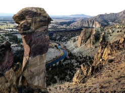 East Face of Monkey Face, Smith Rock, USA
