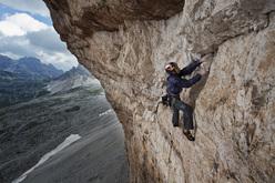 Iker & Eneko Pou, Pan Aroma 8c, Tre Cime di Lavaredo, Dolomites