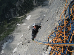 Chimera Verticale, Civetta, Dolomites.