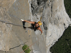 Chloé Graftiaux - Freerider, Yosemite, USA