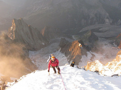 Chloé Graftiaux - Freney, Monte Bianco