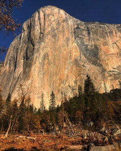 El Capitan in Yosemite, photographed by Tommy Caldwell