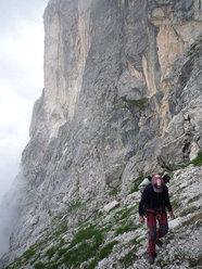 Roberto Iannilli verso la Farfalla del Gran Sasso