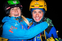 Italian Ski Mountaineering Championships 2018 at Valtournenche: Vertical winners Alba De Silvestro and Michele Boscacci