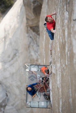 Tommy Caldwell e Kevin Jorgeson su The Dawn Wall, El Capitan, Yosemite