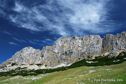 The beautiful Bucegi Mountains, Romania